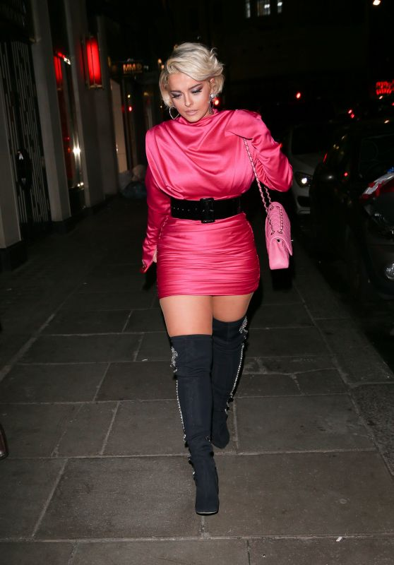 Bebe Rexha Night Out Style - London 11/23/2018