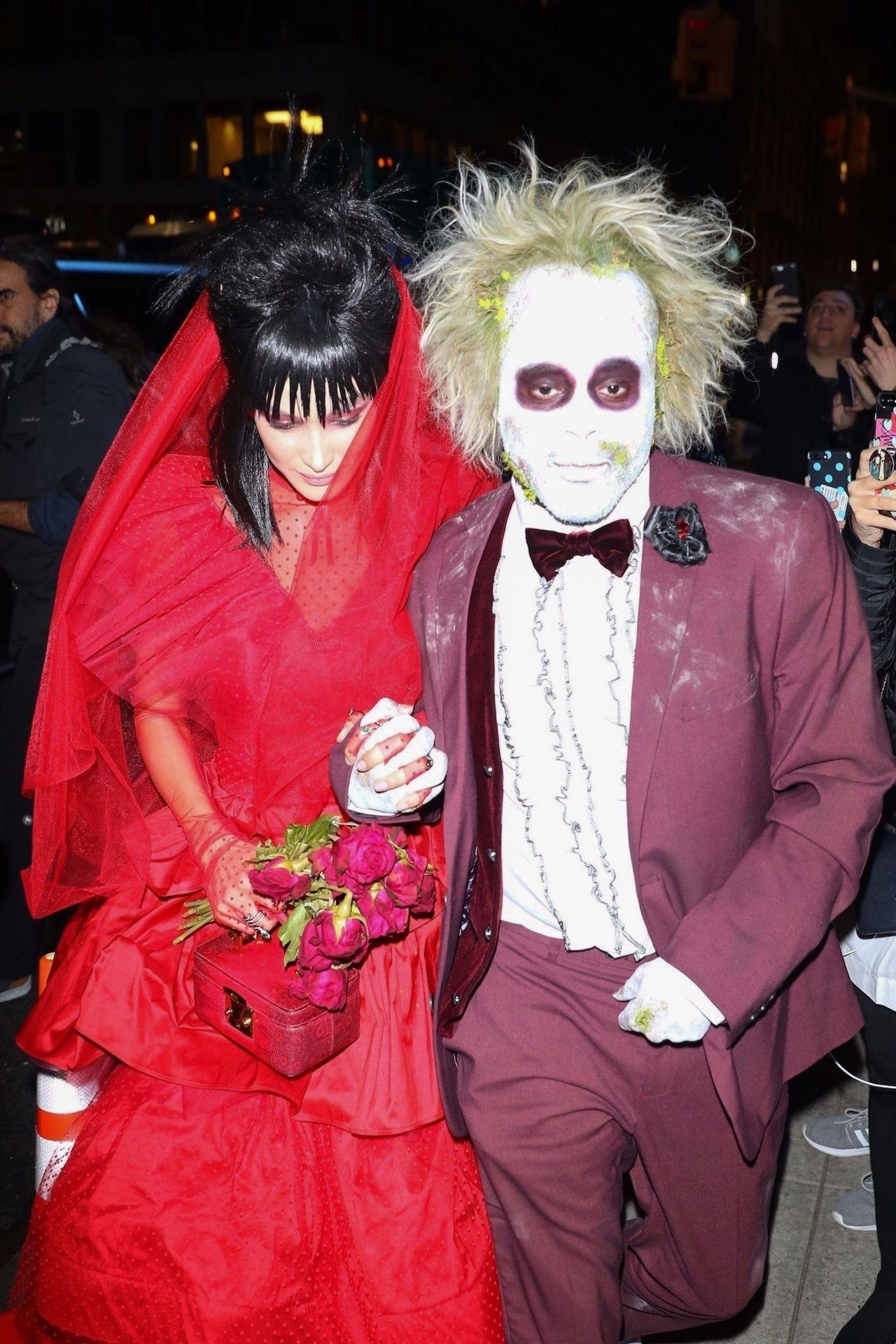 Bella Hadid And The Weeknd At Heidi Klum S Halloween Party
