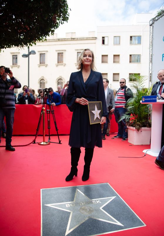 Bo Dereric - Almeria Walk of Fame at the Almeria Film Festival 2018 in Madrid