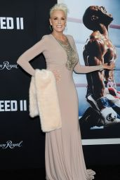 "Brigitte Nielsen - ""Creed II"" World Premiere in New York"