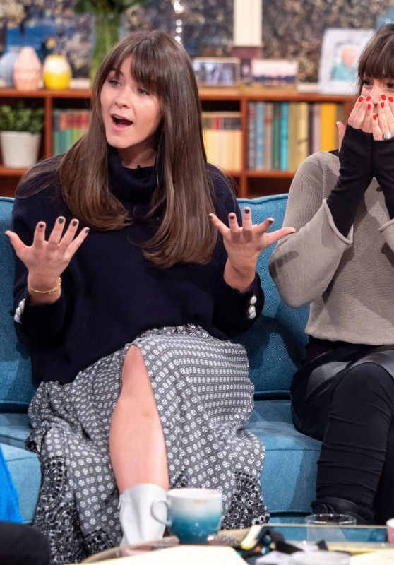 Brooke Vincent and Stirling Gallacher Appeared on This Morning TV Show in London 11/26/2018