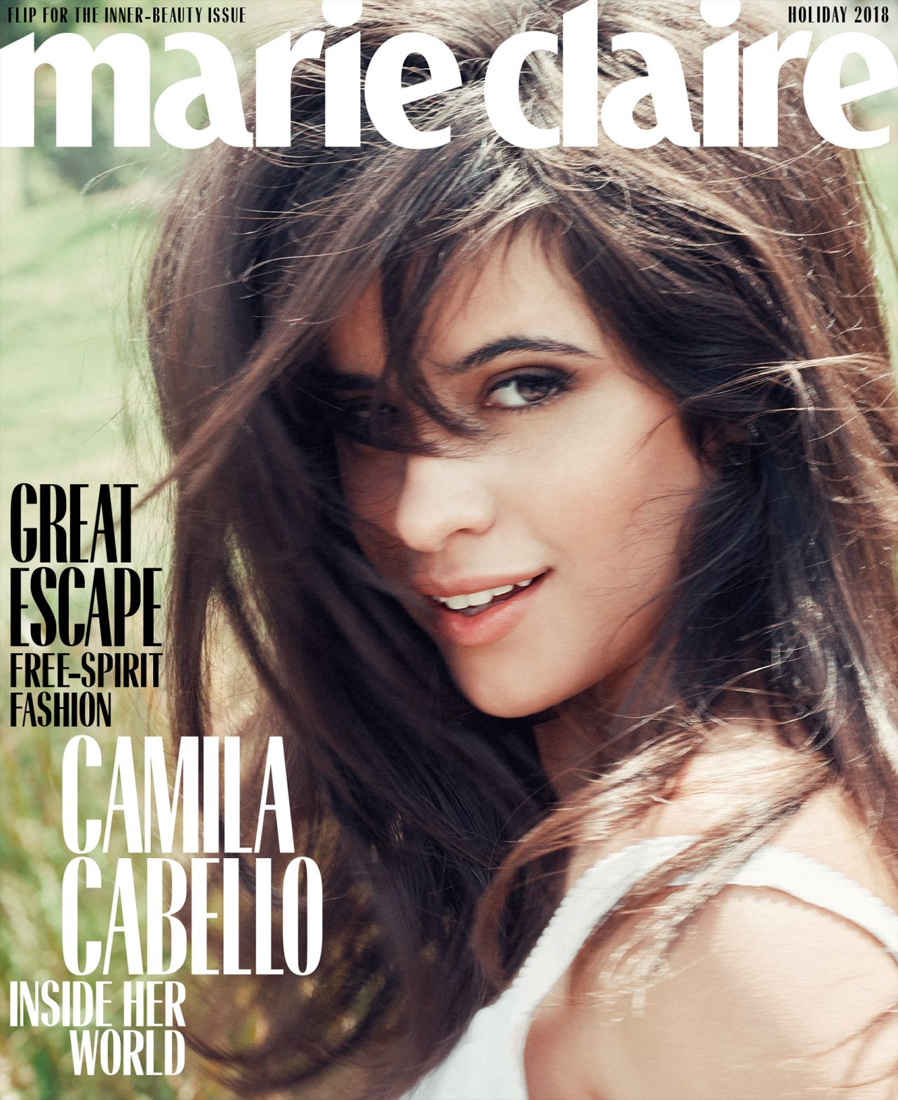 Camila Cabello Marie Claire Us Holiday 2018