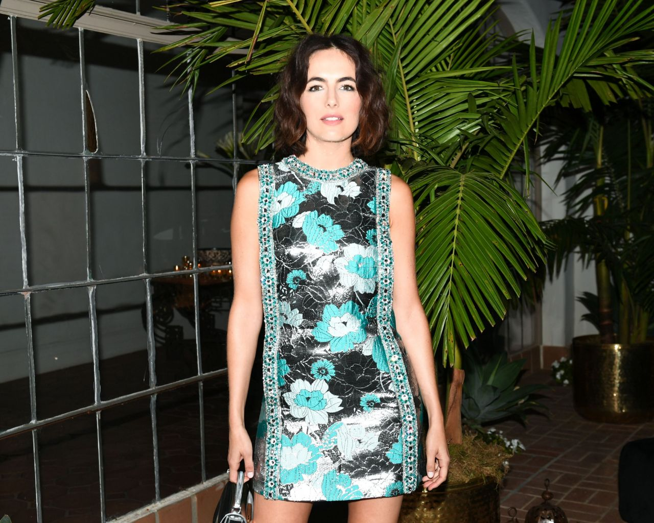 Camilla Belle Sexy Celebrity Legs: Michael Kors X Kate Hudson Dinner In LA 11