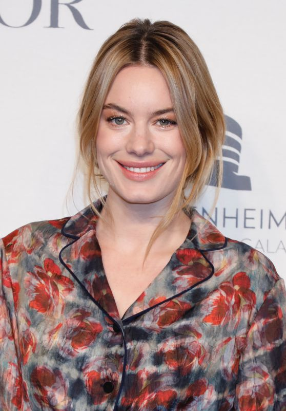Camille Rowe – 2018 Guggenheim International Gala Pre-Party New York