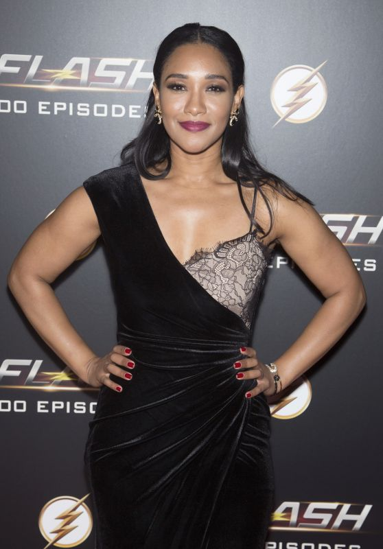 "Candice Patton – ""The Flash"" 100th Episode Celebration"