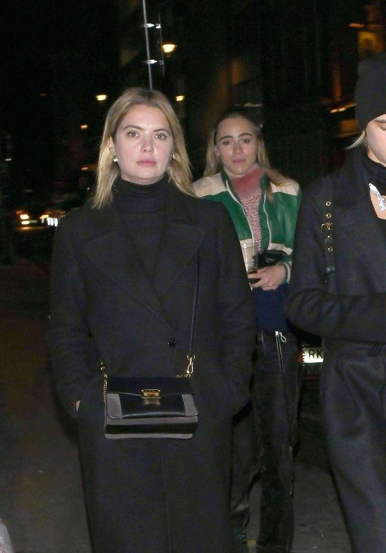 Cara Delevingne and Ashley Benson at the Mandrake Hotel in London 11/21/2018