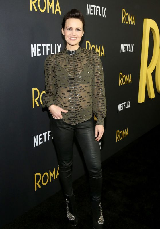 "Carla Gugino - ""Roma"" Screening in NYC"