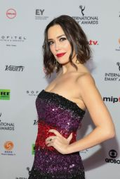 Carla Medina – 2018 International Emmy Awards
