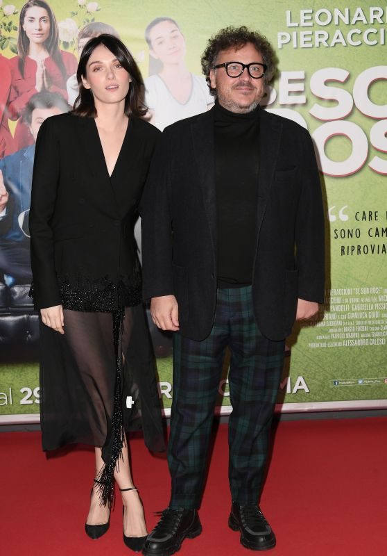 "Caterina Shulha – ""Se son rose"" Premiere in Rome"