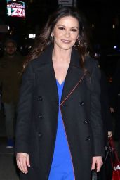 Catherine Zeta-Jones Night Out in New York City 11/28/2018