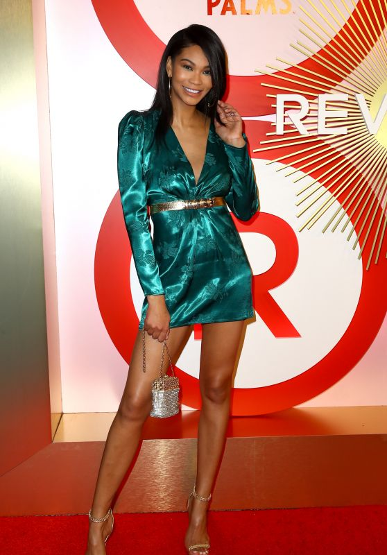 Chanel Iman – 2018 Revolve Awards