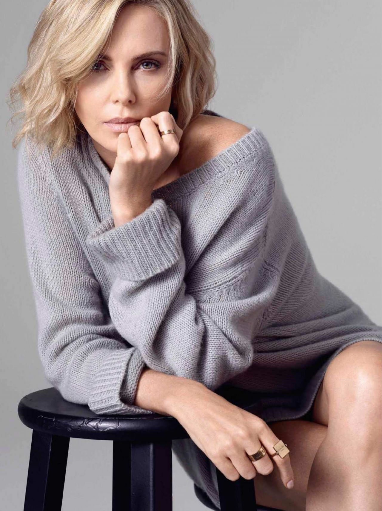 Charlize Theron Glamour Spain December 2018 Issue