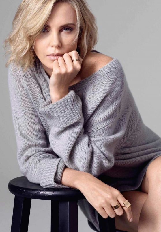 Charlize Theron - Glamour Spain December 2018 Issue