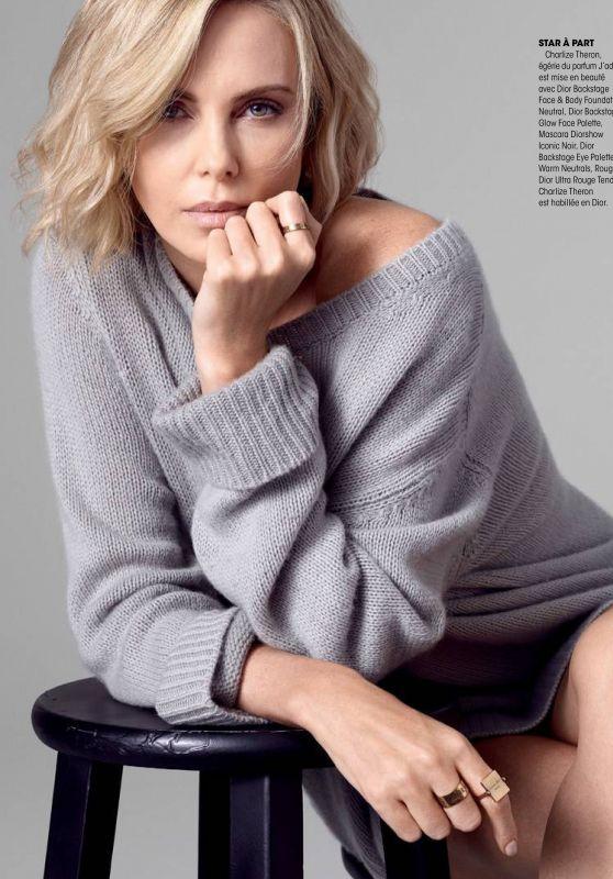Charlize Theron - Madame Figaro November 2018 Issue