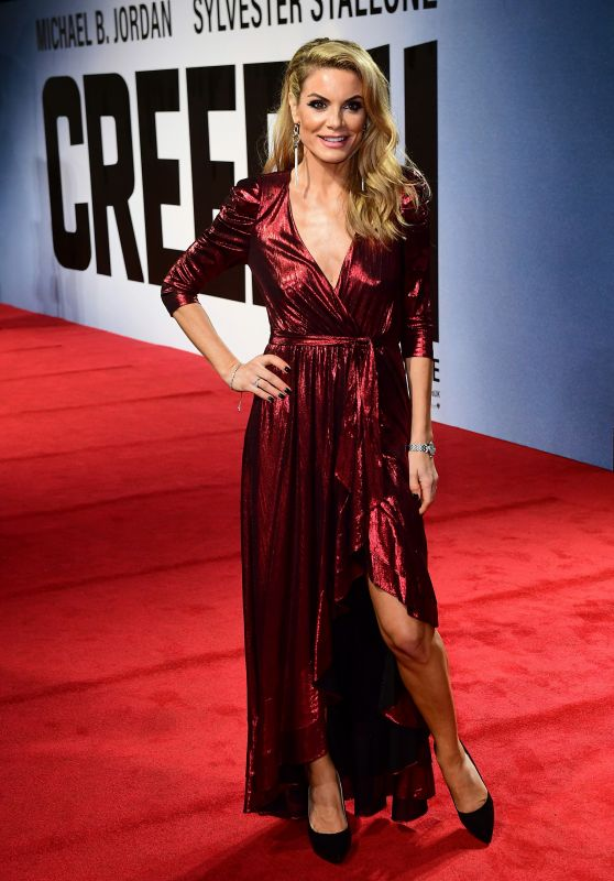 "Charlotte Jackson – ""Creed II"" European Premiere in London"