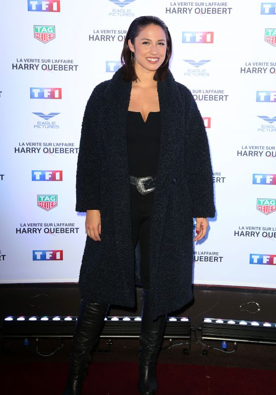 "Charlotte Namura – ""The Truth About The Harry Quebert Affair"" Preview in Paris"