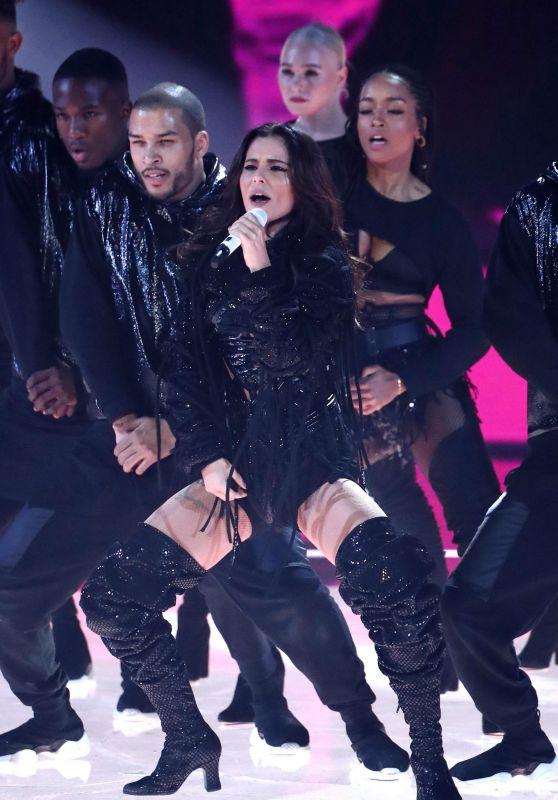 "Cheryl Tweedy - Performing on ""The X Factor"" in London 11/18/2018"