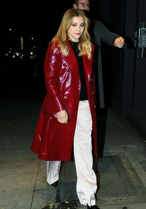 """Chloë Moretz - Heading to """"The Miseducation of Cameron Post"""" Screening in NYC"""