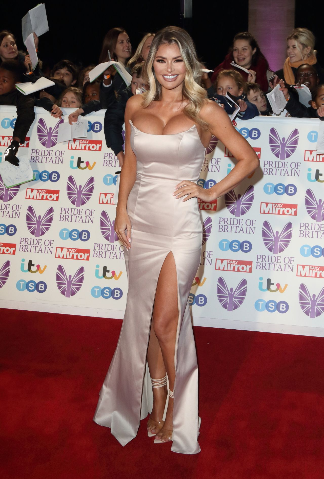 Chloe Sims 2018 Pride Of Britain Awards