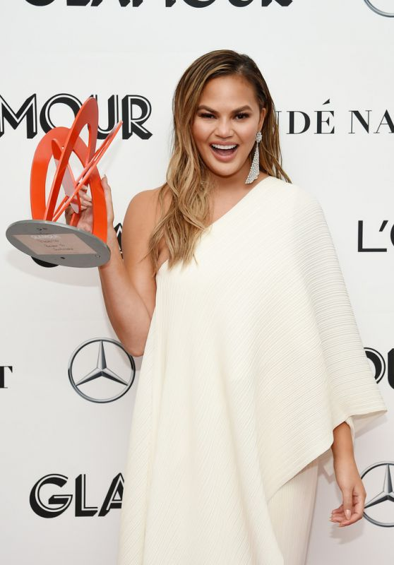 Chrissy Teigen – Glamour Women of the Year Awards 2018