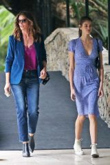 Cindy Crawford and Kaia Gerber - Exit From The Bel Air Hotel in Los Angeles 11/19/2018