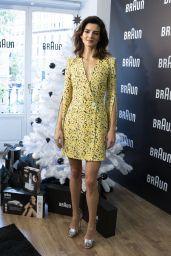 "Clara Lago - ""Braun"" Beauty Range Presentation in Madrid 11/21/2018"