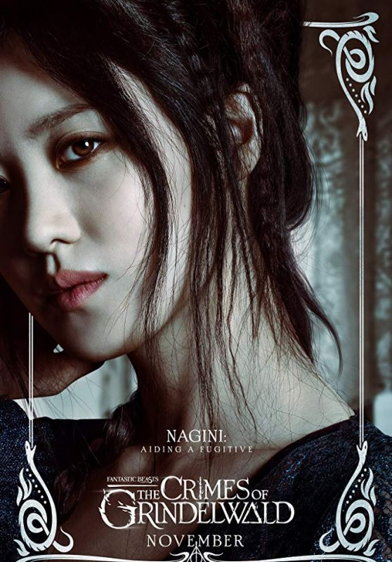 "Claudia Kim - ""Fantastic Beasts: The Crimes of Grindelwald""  Photos and Posters"