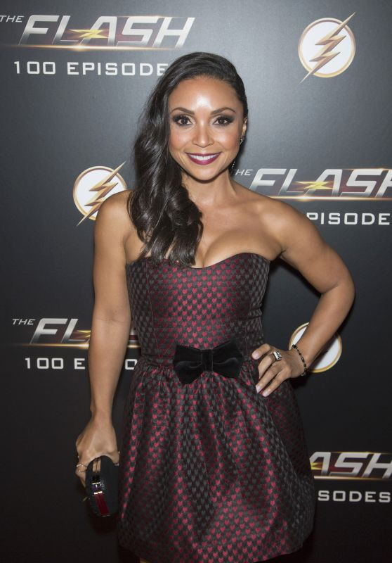 "Danielle Nicolet – ""The Flash"" 100th Episode Celebration"