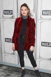 Danielle Rose Russell at the BUILD Series in NY 11/19/2018