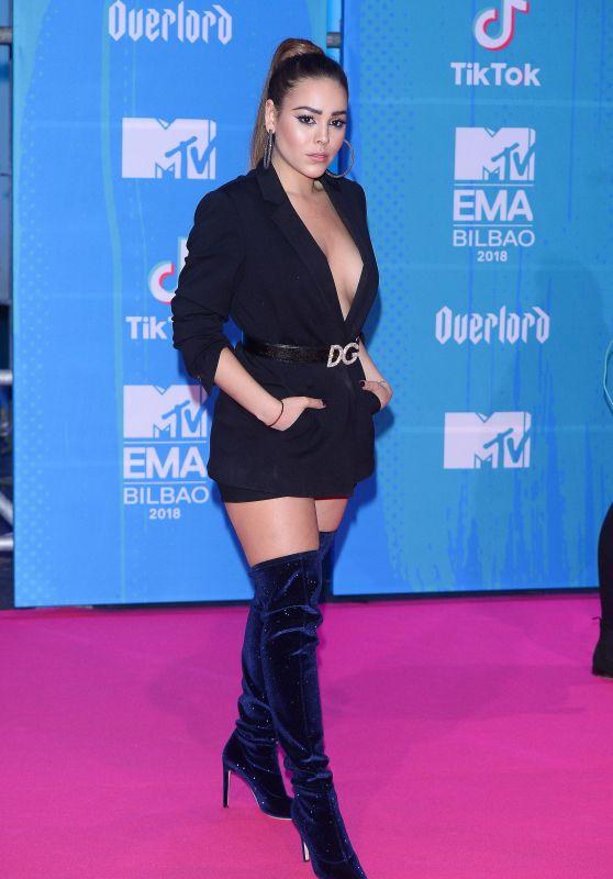 Danna Paola – MTV EMA's 2018 in Bilbao