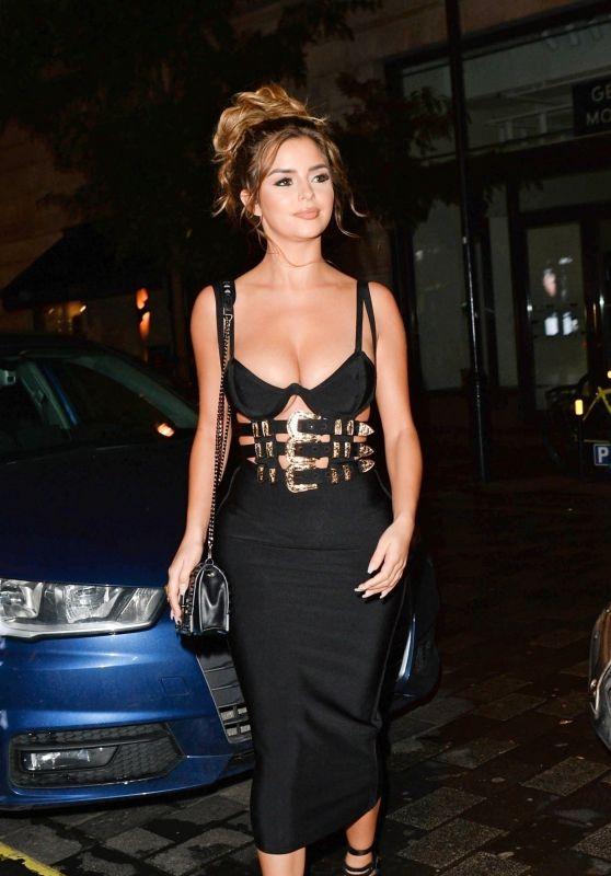 Demi Rose - Leaving Toyroom Nightclub in London 11/07/2018