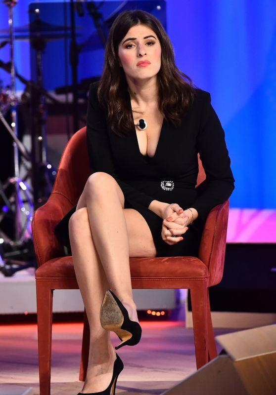 """Diana Del Bufalo - """"Maurizio Costanzo"""" TV Show in Rome"""