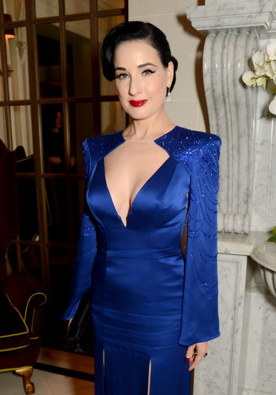 Dita Von Teese - Jenny Packham x Dita Von Teese Dinner in London 11/11/2018