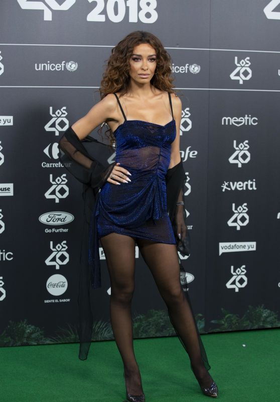 Eleni Foureira – LOS40 Music Awards 2018 in Madrid