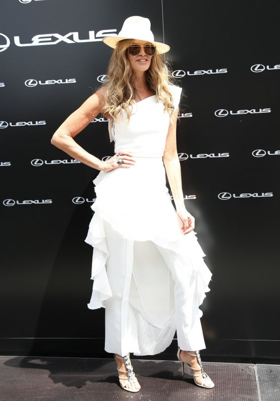 Elle Macpherson - AAMI Victoria Derby Day in Sydney 11/03/2018