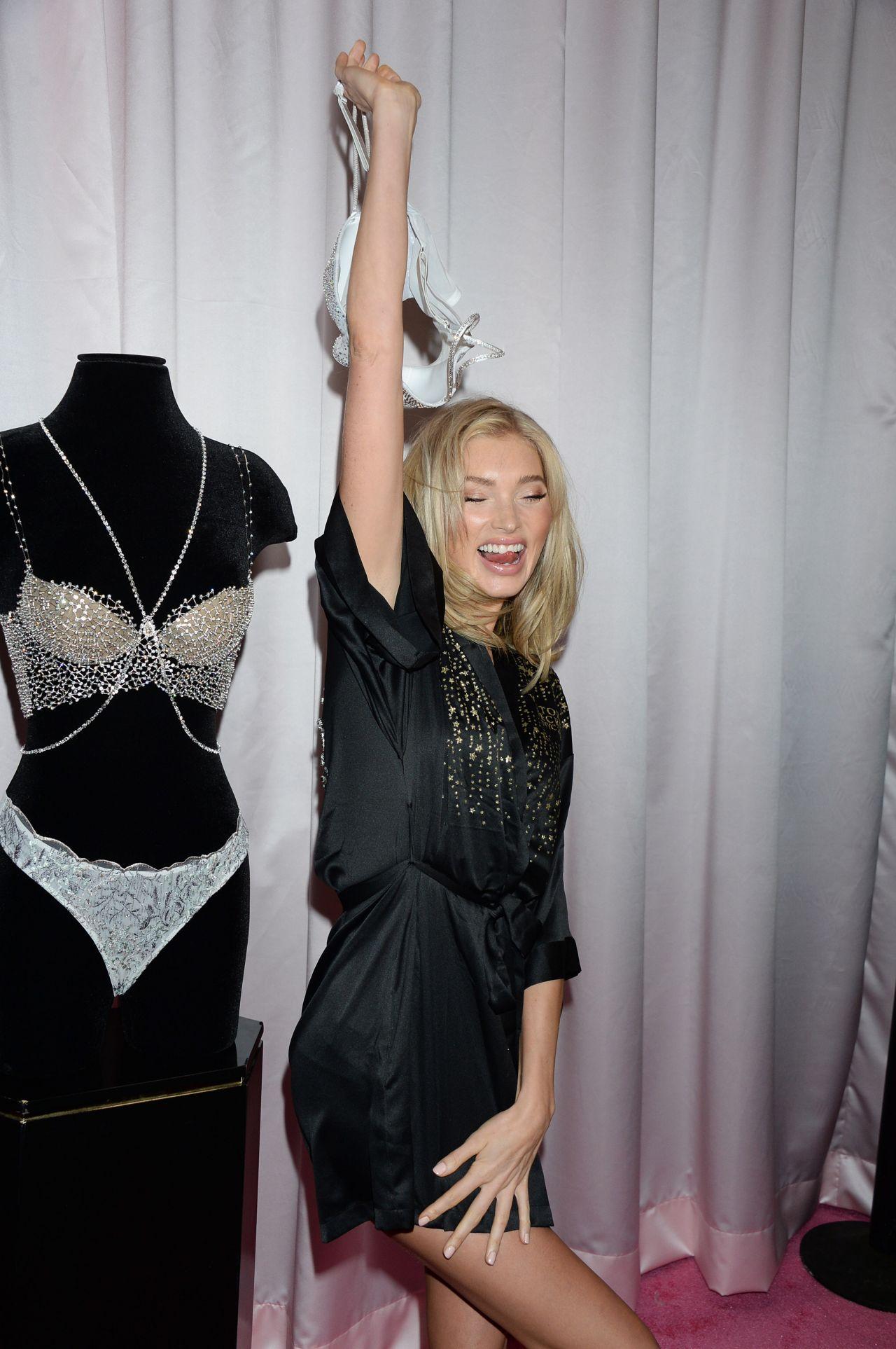 Elsa Hosk 2018 Victoria S Secret Fashion Show Backstage