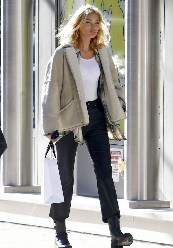 Elsa Hosk Street Fashion 11/20/2018
