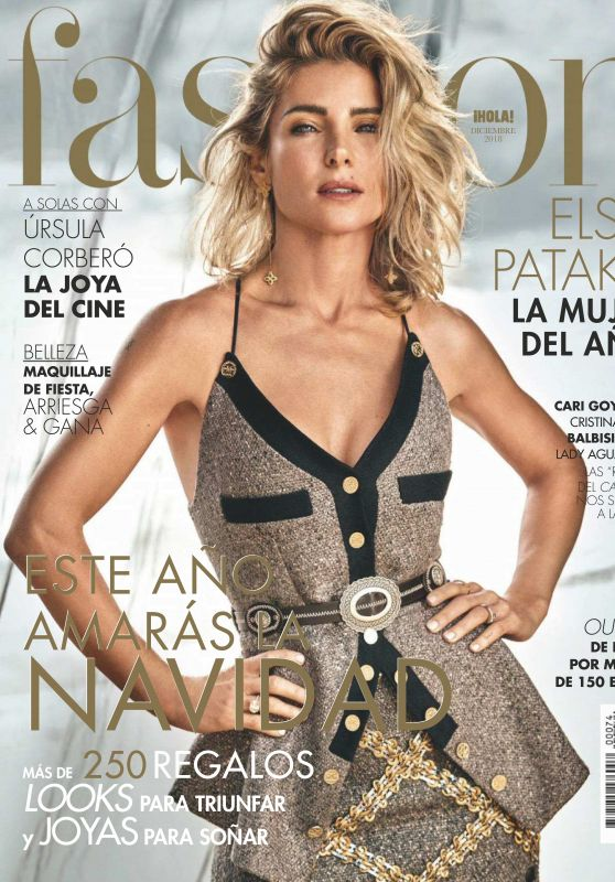 Elsa Pataky - Hola! Fashion - December 2018 Issue