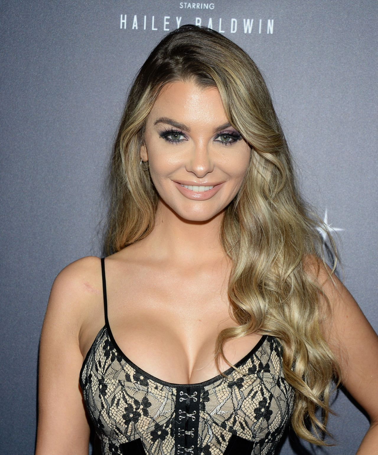 Emily Sears - PrettyLittleThing x Hailey Baldwin Event in