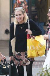 Emma Roberts - Holiday Shopping at the Grove 11/27/2018