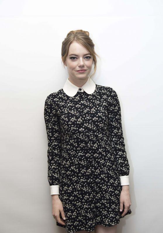 """Emma Stone - """"The Favourite"""" Press Conference in LA"""