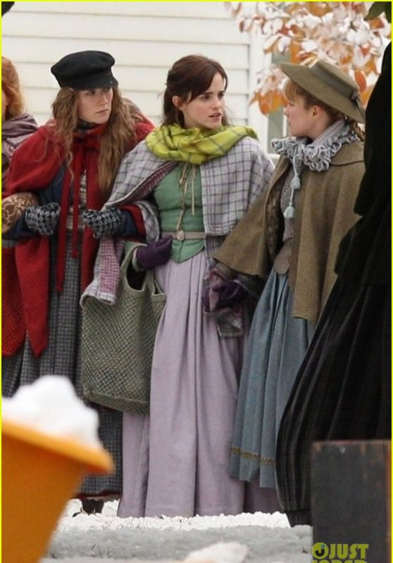 "Emma Watson - ""Little Women""Movie Set 11/05/2018"