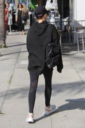 Emmy Roberts - Leaving a Gym in Beverly Hills 11/08/2018