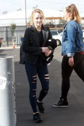 Evanna Lynch - Arrives for Practice at DWTS Studio in LA 11/17/2018