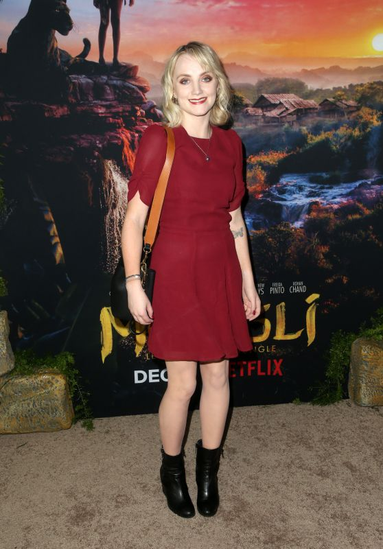 "Evanna Lynch – ""Mowgli"" Premiere in Hollywood"