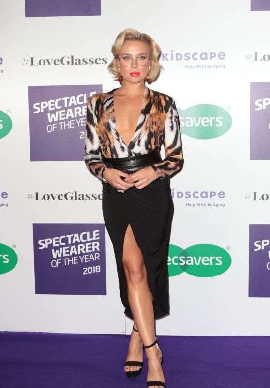 Gabby Allen - 2018 Specsavers Spectacle Wearer of the Year in London