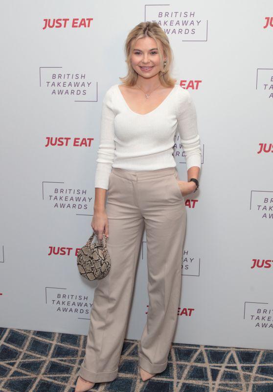 Georgia Toffolo – The British Takeaway Awards 2018 in London