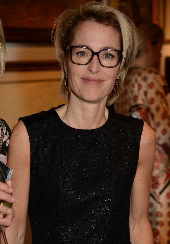 Gillian Anderson - Women for Women International #SheInspiresMe Auction in London