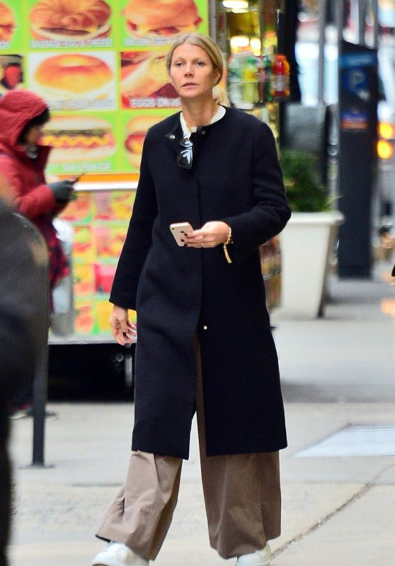 Gwyneth Paltrow -Out in NYC 11/19/2018