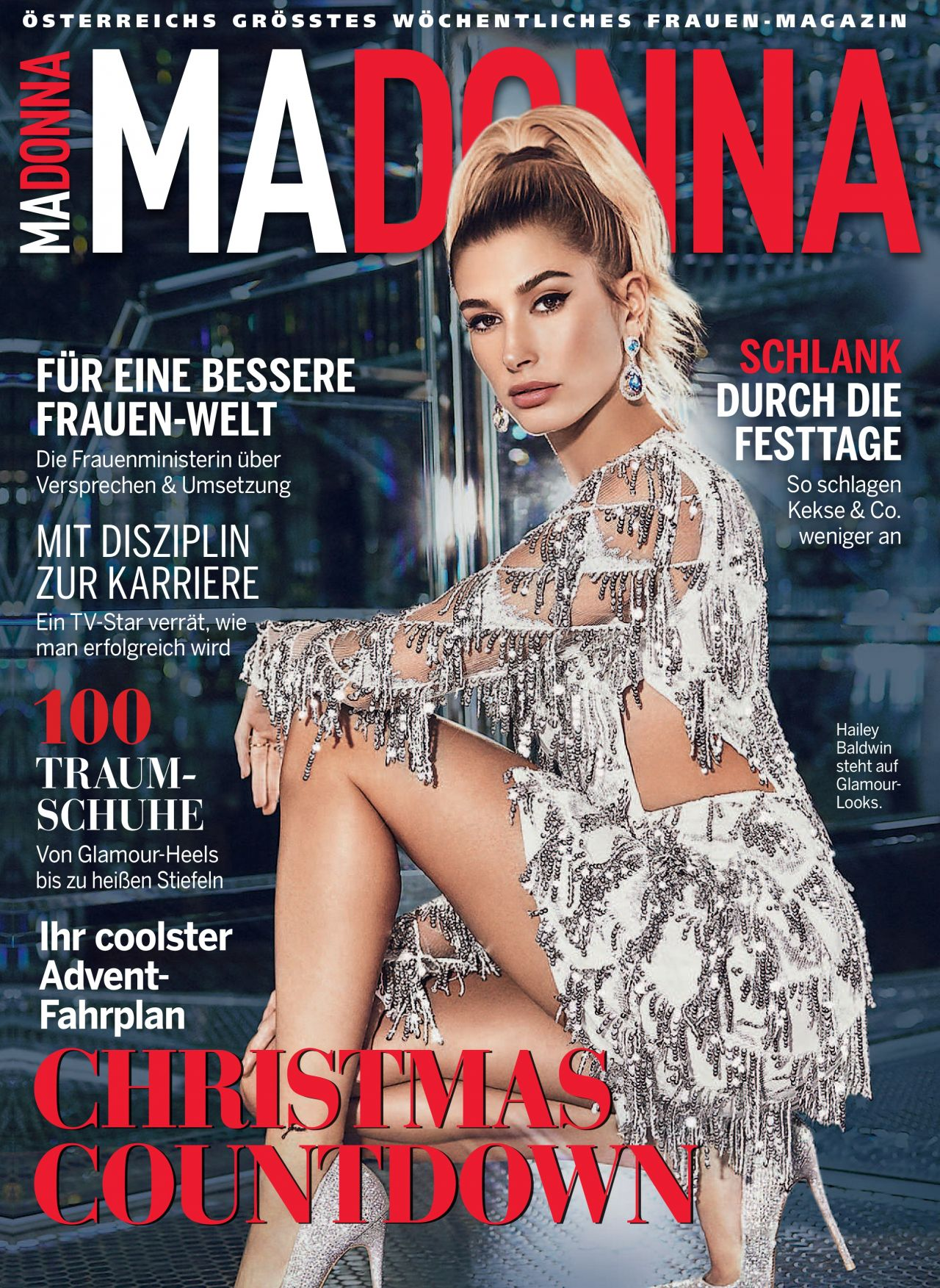 Hailey Baldwin Madonna November 2018